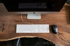 How to make a live edge wood desk