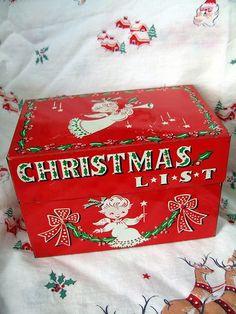 Christmas List Box.