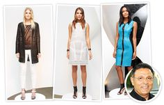 Elie Tahari Celebrates 40 Years With a Silicon Valley-Inspired Spring 2014 Collection from InStyle.com