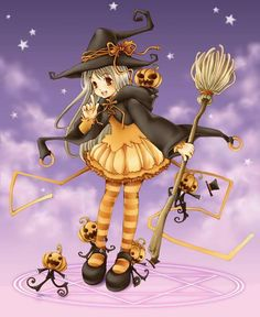 cute witch - posted on Facebook