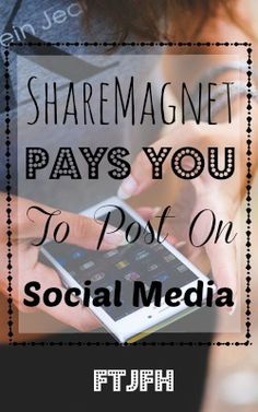 Learn How You Can Make Money With Your Social Media Accounts At Share Magnet!