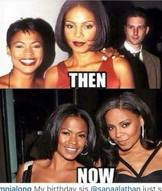 Nia long and Sanaa Lathan My Black Is Beautiful, Beautiful People, Beautiful Women, Hello Beautiful, Black Girls Rock, Black Girl Magic, Nia Long, Black Pride, Ageless Beauty