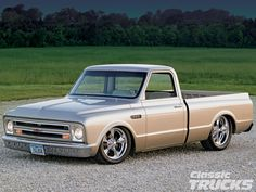 Read all about this fully restored 1968 Chevy C-10 pickup truck powered by a custom Chevy LS2 engine. Only at www.classictrucks.com, the official website for Classic Trucks Magazine!