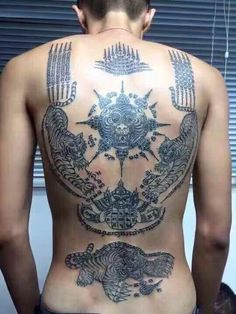 Sak Yant Thai tattoo symbols and meanings