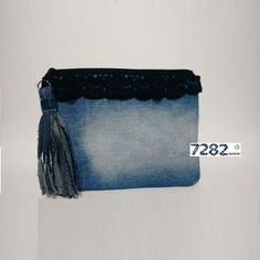 Nº 15 - Necessaire crochet preto - 7282 Ecoluxo