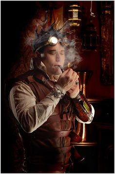 Steampunk Man in 24 Hours with a Steampunk Aeronaut