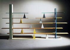 Gritti shelvesby Andrea Branzi, 1981