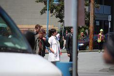 Ginnifer Goodwin on set in Steveston on July 17, 2015