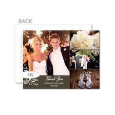 213 Best Wedding Thank You Cards Images On Pinterest Invitations