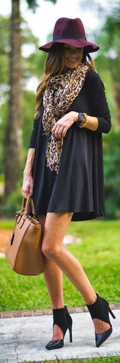 Nasty Gal Black Full Swing Mini Dress by Sequins & Things