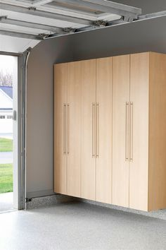 Garage cabinets plans solutions projects pinterest garage cabinets by the garage doors for sporting goods and rakes and broom storage innovate home org solutioingenieria Gallery