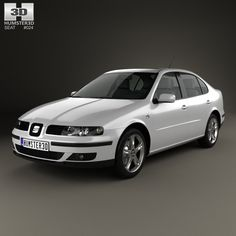 Seat Toledo 1999 3d model from Humster3D.com