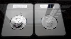 2015-P AMERICA THE BEAUTIFUL SERIES - BLUE RIDGE SILVER 5OZ(MINTAGE 30000) NGC SP70 EARLY RELEASES & 2015 AMERICA THE BEAUTIFUL SERIES - BLUE RIDGE SILVER 5OZ NGC MS69 DPL EARLY RELEASES