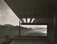 Richard Neutra Casa Ebelin Bucerius, Brione sopra Minusio, Switzerland Terrace with panoramic view on Lago Maggiore, Richard Neutra, Richard Meier, Architecture Design, Amazing Architecture, Chinese Architecture, Architecture Office, Futuristic Architecture, Frank Lloyd Wright, Mid Century Exterior