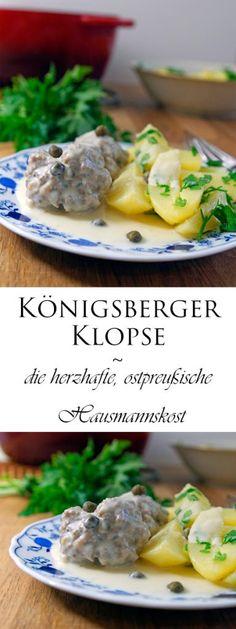 Königsberger Klopse ~ die herzhafte, ostpreußische Hausmannskost - Mimis Foodblog
