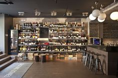DropShop_ wine bar by suto , via Behance