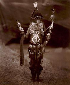 Native American Edward Curtis Navaho Zahadolzhá  by griffinlb, via Flickr