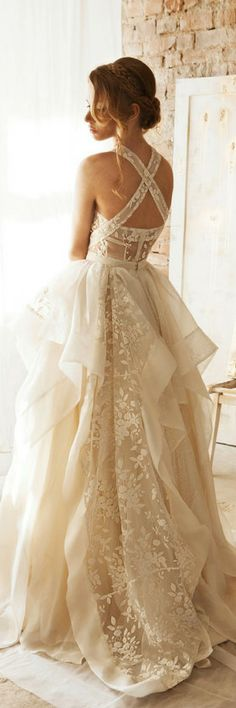 This lightweight skirt with elegant volume will make your wedding ensemble lavish. Organza lace and taffeta blend in a daring and outstanding design that will wow your family and friends ;) Wedding Separates, Wedding Dress, Rustic Wedding Dresses, Bridal Gown, White Lace Skirt, Floral Lace Skirt, Embroidered Skirt, Maxi Skirt #womensfashion #ad #weddingideas