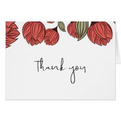 roses floral wedding thank you card wedding thank you gifts cards stamps postcards marriage thankyou