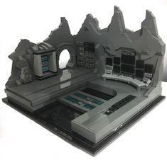Batman Batcave, Lego Batman Movie, Lego Dc, Lego Duplo, Lego Star, Lego Batmobile, Batman Redesign, Lego Machines, Lego Army