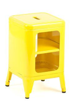 Paddington Storage Stool Yellow / Industry West