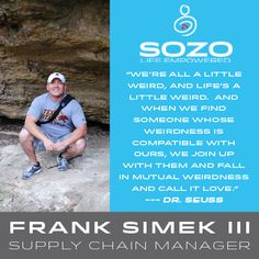 How does the SOZO Team live the #SOZOLife? Starting the day with a fresh cup of coffee helps Supply Chain Manager, Frank Simek III, stay ready to take on the world. He also can't get enough of that delicious Ignite Pomegranate.  Tell us: Are you with Frank? How do you SOZO?