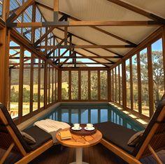 Wolgan Valley Resort indoor pool