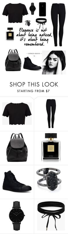 """▪️One color head to toe ▪️"" by silviamachado20 on Polyvore featuring Ted Baker, Witchery, Avon, Converse, Kendra Scott, CLUSE and Boohoo"