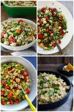 4 utrolig gode pastsalater fra bloggen! Du finner sikkert en du liker, og hvis ikke finnes det flere på bloggen. Ta en titt da vel!