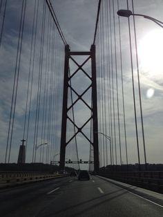 Ponte 25 Abril, Lisboa, Portugal