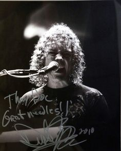 """""""Thanks Doc Great Needles!!"""" David Bryan - Keyboardist for BON JOVI recommends Dr. Tony Willcox at Acupuncture Zen http://www.acuzenme.com"""