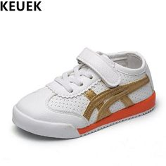 dba42f02948c NEW Spring Autumn White Sneakers Boys Girls Children Casual Shoes Toddler  Baby Hook  amp