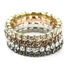 Sparkly bracelets!