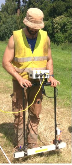 Not just skilled with a Mattock, Ruben displays his expertise within the field of geophysics, if you'll excuse the pun.