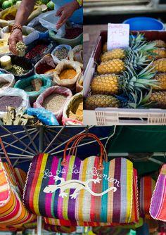 at the market, St Leu, Voyage Reunion, Reunion 974, Mauritius Hotels, Madagascar, French West Indies, Island Food, Travel Set, Caribbean Sea