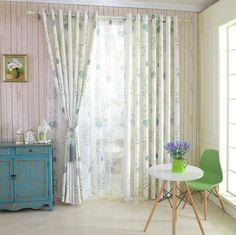 Американский стиль страна сельский пастырское шторы дома готовые окна занавес…