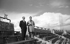 Stadion Dziesięciolecia 1960  #warszawa #warsaw #stadion #StadionNarodowy #StadionDziesieciolecia #praga #aktorzy #trybuna Warsaw, Louvre, Concert, Travel, Prague, Historia, Viajes, Concerts, Destinations
