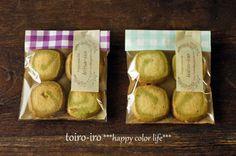 トイロイロ ***happy color life***-抹茶の渦巻きアイスボックスクッキー
