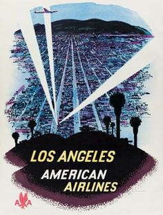 Bid in Vintage Posters Auction on Aug 27, 2020 by Swann Auction Galleries in NY Retro Airline, Airline Travel, Travel And Tourism, Vintage Airline, Air Travel, Travel Ads, Retro Ads, Belle Epoque, Hollywood Poster