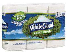 Save $1.00 on White Cloud Bath Tissue, Only $2.97 at Walmart!