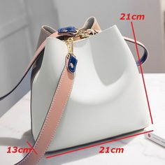 Designer Women Handbags PU Leather Bucket Shoulder Bags Female Larger Capacity Crossbody Messenger Bags Girls bags shoulder Bags Bags with handles Wallets crossbody Bags Backpacks Evening bags hand Strap cosmetic Bags and cases Popular Handbags, Cute Handbags, Purses And Handbags, Leather Handbags, Cheap Handbags, Bucket Handbags, Ladies Handbags, Leather Wallets, Handbags Online