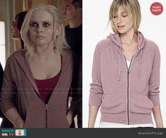 Liv's mauve hoodie on iZombie.  Outfit Details: http://wornontv.net/47229/ #iZombie
