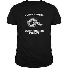 Shop Men's Father Son Friends Fist Bump TShirt Dad Father's Day F Black Youth custom made just for you. Cute Shirts, Funny Shirts, Awesome Shirts, Family Humor, Funny Family, Fist Bump, Best Friends For Life, Fathers Day Shirts, Best Mother