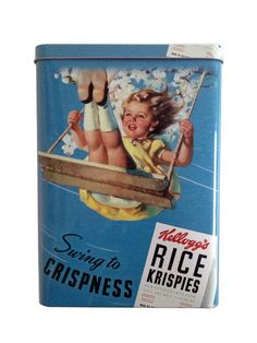 *Archives* Kelloggs Vintage Style Cereal Tin
