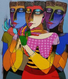 Contemporary Indian art Painting
