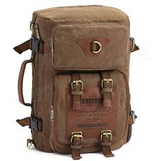 Viaje del hombro del estilo del ejército lienzo mochilas tácticas de los hombr - €53.11