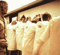 Lining Up the Prisoners. A great resource for information about Zimbardo's famous prison experiment.