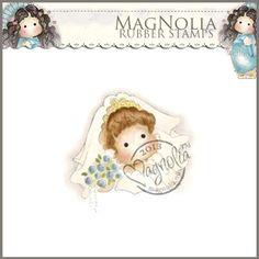 Magnolia Rubber Stamp - SM13 DooBeePops Bride Tilda