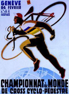 cyclocross poster (circa 1950s)