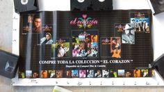 """EL  CORAZON""  TEJANO poster JOE LOPEZ , MAFIA , FAMA , SHELLY LARES , PALOMINOS"